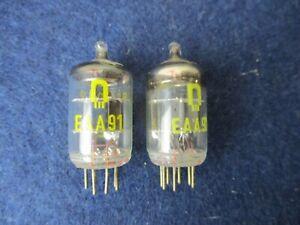 Zweifachdiode EAA91 Detektor Röhre (äquivalent zu EB91) RFT Röhrenwerk Neuhaus