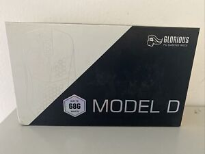 Glorious PC Gaming Race Model D USB RGB Optical Gaming Mouse - Matte White