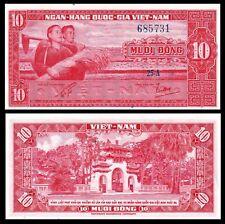 SOUTH VIETNAM 10 DONG P 5 5A 1962  UNC-AU