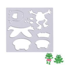 Frog Metal Cutting Dies Stencils DIY Scrapbook Album Embossing Paper Cards Craft