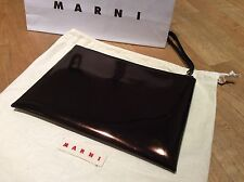 100% AUTHENTIC RRP£350 MARNI COPPER GLOSS CLUTCH (BRAND NEW)