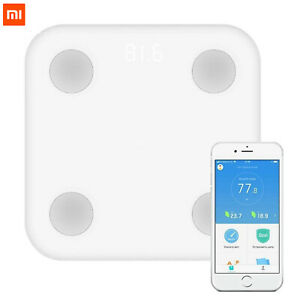 MI Smart Body Composition Fat Scale 2 Bluetooth 5 MiFit App iOS & Android