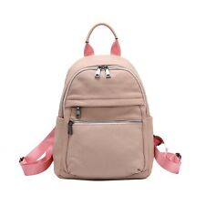 Backpack Leather 100% Genuine Leather/ Just Luv Crave Backpack/ Nude Pink