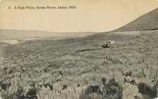 Snake River Id * A Sage Plain 1910 Oregon Trail Ezra Meeker