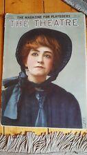 RARE February 1909 The Theatre magazine with Mrs. Fiske cover