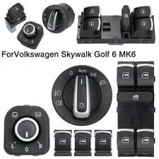 Chrome Window Switch for VW Golf MK5 MK6 Passat 3C B6 CC Jetta Tiguan Touran