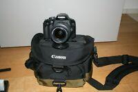 Fotocamera Canon EOS 550D reflex digitale + obiettivo 18-55 IS + borsa + sd 64gb
