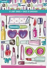 Pack of 8 Girls Party Loot Bags - Spa party