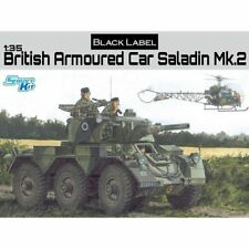 1/35 Dragon Black Label automóvil blindado británico Saladin Mk.2 3554 Sellado