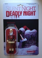 Custom Silent Night Deadly Night Vintage Style Horror 3 3/4 Action Figure MOC