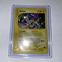 Raikou H26/H32 - Skyridge 2003 Pokemon - Holo Lp Nice!!!