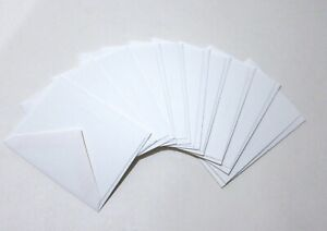 NEW Lot of 10 Tiffany & Co. All Occasion White Blank Gift Note Cards Envelopes