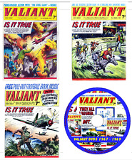 Valiant Comics 3 DVDs 367 issues & 13 specials +viewing software .cbr DVDs 1 - 3