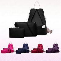 Women 3PCS Backpack Handbag Shoulder Bags Tote Purse Ladies Messenger Hobo Bags