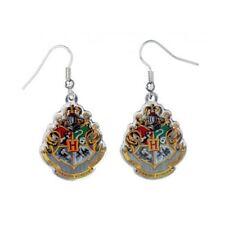 Harry Potter Hogwarts Crest Earrings From The Carat Shop UK