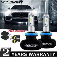 NIGHTEYE H11 H8 H9 50W LED Headlight Kit Bulb Replace Halogen White Free Decoder