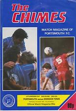 PORTSMOUTH v SWINDON TOWN LITTLEWOODS CUP 1987/88