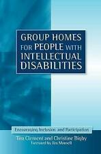 Group Homes for People with Intellectual Disabilities: Encouraging Inclusion and