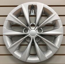 New 16 10 Spoke Silver Hubcap Wheelcover Fits 2015 2016 2017 Toyota Camry Fits Toyota