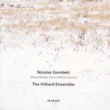 The Hilliard Ensemble - Nicolas Gombert [New CD] Spain - Import