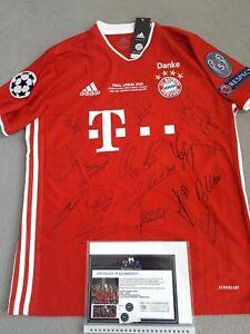 Bayern Munich signed 2020 champions league winners .coa ,bnwt
