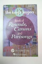 THE KING'S SINGERS Book of Rounds, Canons & Partsongs Paperback Good Unused con
