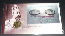 2010 CENTENARY OF COMMONWEALTH COINAGE  PNC-FDC.