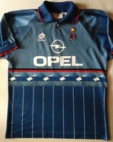 MAILLOT JERSEY LOTTO MILAN AC N°18 ROBERTO BAGGIO SAISON 1995/96 // TAILLE L