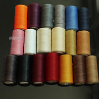 284 YRD LEATHER SEWING WAXED THREAD 1MM FOR CHISEL AWL UPHOLSTERY SHOES LUGGAGE