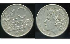 BRESIL  10 centavos 1970  ( bis )