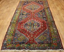 Traditional Vintage Wool Handmade Classic Oriental Area Rug Carpet 307 X 129 cm