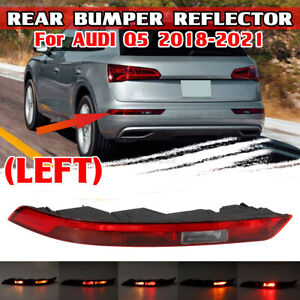 For AUDI Q5 2018-2021 LH Left Side Rear Bumper Reflector 80A945069A New