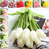 1Pc Artificial Tulips Flower for spring home wedding decoration flowers PU