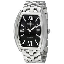 Milus Agenios Silver Dial Automatic Mens Watch AGESM02