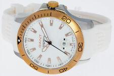 GANT Herrenuhr Farbe bicolor mit rose gold 20ATM Duxbury W10726 Silikonband NEU