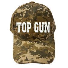 DIGITAL CAMO CAMOUFLAGE TOPGUN TOP GUN Military Cap Hat