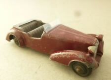 Dinky Toys Early Version of the Alvis Sports Touring Car 1940's Dinky Toy   M