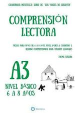 Cuadernos de Comprension Lectora. Nivel B&#65533sico A.: Comprension Lectora...