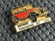 PINS PIN BADGE CAR RENAULT VIVAQUATRE G7 1933