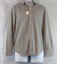 Polo Ralph Lauren Men's Cotton Jacquard Button-Down Shirt, Andover Gray, XS