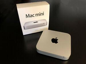Apple Mac Mini Server Quad Core i7 2,3 Ghz 4 GB RAM 256 GB SSD Late 2012