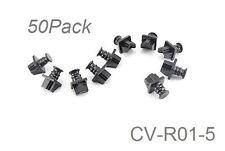 50-PACK RJ45 LAN Network Cat5e/Cat6 Ethernet Jack Snap-In Dust Cover, CV-R01-5