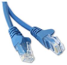 BLUE 25cm SHORT RJ45 CAT5E CAT 5 ETHERNET LAN PATCH NETWORK CABLE LEAD ROUTER