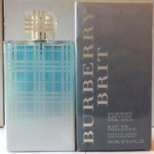 Burberry Brit Summer Edition Eau De Toilette Natural Spray 3.3oz