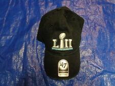 Super Bowl LII 52 Minnesota 47 BRAND NFL Strapback Adjust Dad Cap Hat Clean  up 722259a30fdc