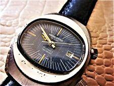 MEMOSTAR montre ALARME mécanique Suisse homme 1975 MEM1001