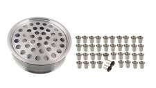 Communion Ware 1 Wine Serving Tray + 40 Cups - Stainless Steel