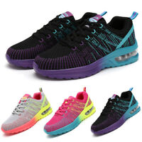 Women's Air Cushion Sneakers Casual Sports Breathable Running Tennis Gym Shoes