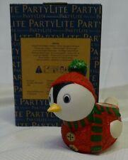 Partylite Candles Snowbird Winter Tealight Holder Nib P93174