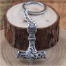 Thor's Hammer Mjolnir Pendant Keychain Viking Scandinavian Norse Viking Keychain